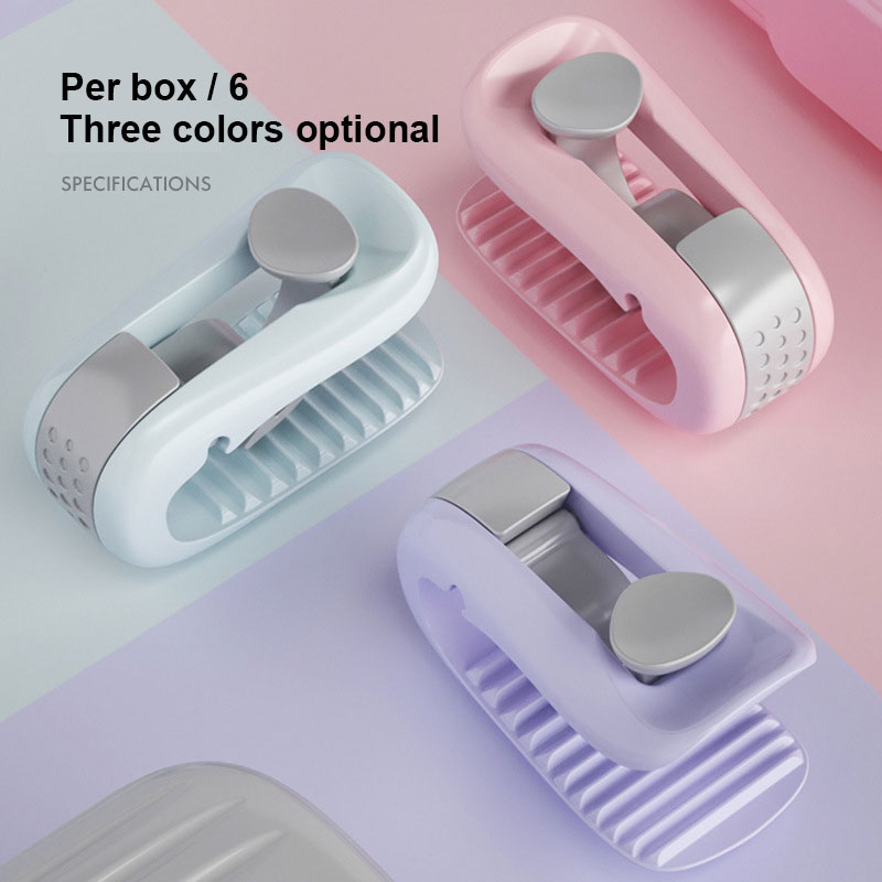 6Pcs/Set Quilt Holder Invisible Safe Needle-Free Non-Slip Duvet Quilt Clip Anti-running Quilt Cover Buckle Clip Bed Sheet Holder