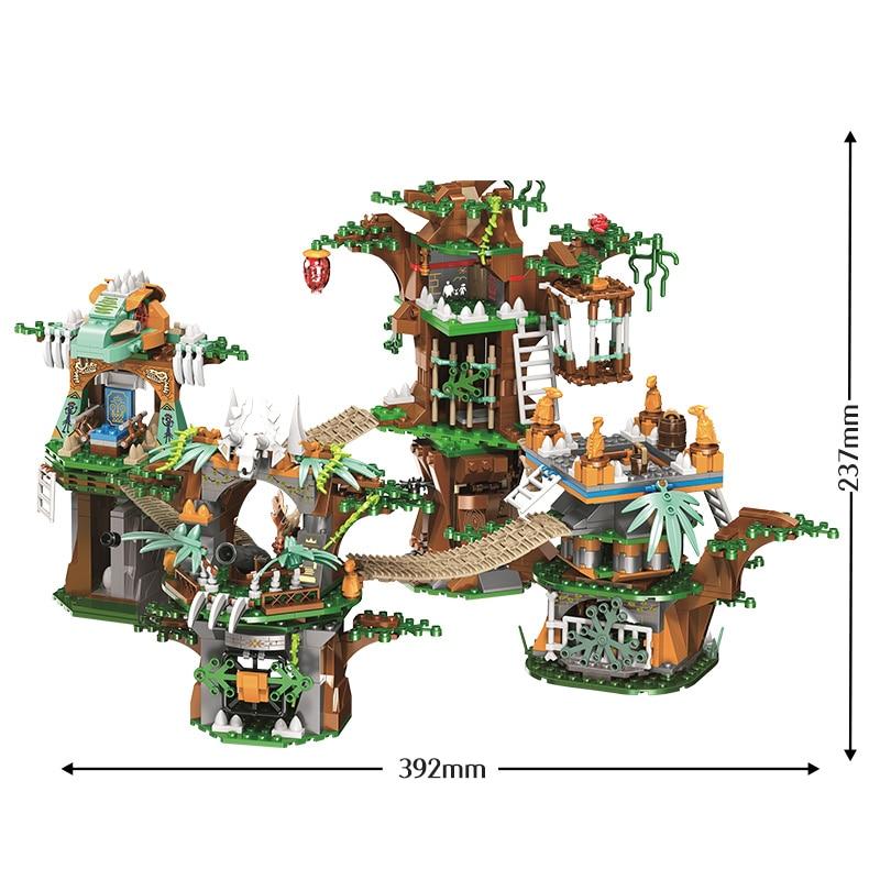 erbo 1000 pcs jurassico mundo dinossauro arvore 05