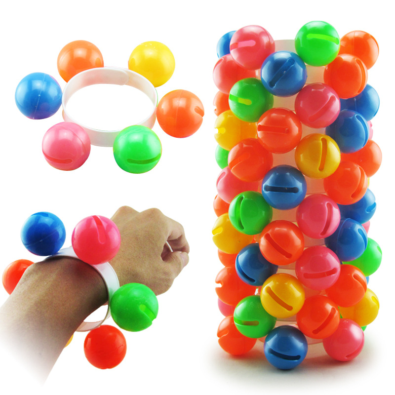 Children's Hand And Foot Bells, Kindergarten Dance Rattles, Bell Bracelets, Plastic Toys