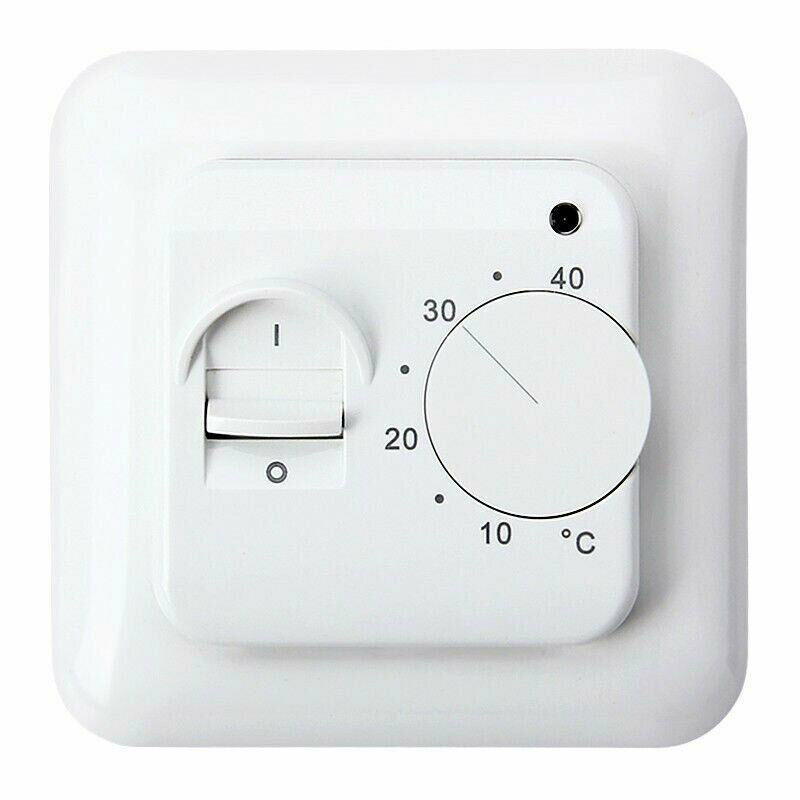 16A 230V Home Floor Heating Thermostat Air Condition Temperature Control Switch Accessories