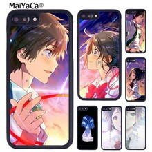 MaiYaCa Yours ชื่อ Kimi NO Na WA คู่รักสำหรับ iPhone 11 PRO MAX X XR XS MAX 6 6S 7 8 PLUS 5 5S TPU COVER(China)