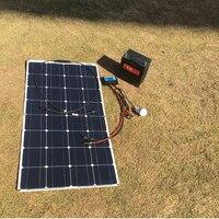RG solar panel 300w 100w 12V 24V flexible solar panel For 12V solar battery charger Monocrystalline cell 1000w home system kits