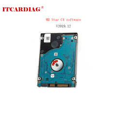 12/2019V Newest Full Software For MB STAR C3/C4/C5 320GB HDD Software Installed  Fit for Most laptops