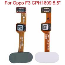 Shyueda New Original For Oppo F3 CPH1609 Back Home Fingerprint Button sensor line Flex