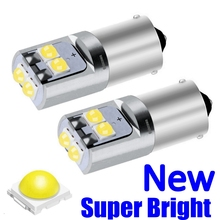 2Pcs T11 233 T4W BA9S BAX9S BAY9S Led Auto Interieur Reading Dome Lamp Auto Tail Side Lamp Parking Light nummerplaat Lamp