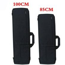Funda con cubierta para Rifle táctico Airsoft, bolsa de caza táctica, mochila militar, accesorios de pesca y acampada, color negro/tostado