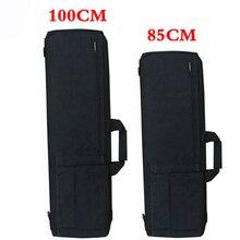 Nero/Tan Tactical Rifle Airsoft Cassa Della Pistola del Sacchetto della custodia per Armi Tattica di Caccia Sacchetto Militare Dello Zaino di Campeggio di Pesca Accessori Borsa