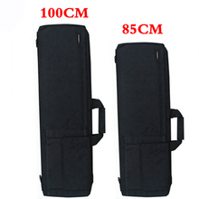 Siyah/Tan taktik tüfek Airsoft kılıf kılıf silah çantası taktik av çanta askeri sırt çantası kamp balıkçılık aksesuarları çantası
