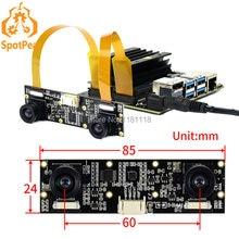 Raspberry pi IMX219-83 câmera binocular, estéreo 8mp módulo profundidade visão para raspberry pi cm3/cm3 + nvidia jetson nnao b01