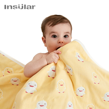 Cotton six-layer gauze four-season baby blanket  boy blankets girl stuff