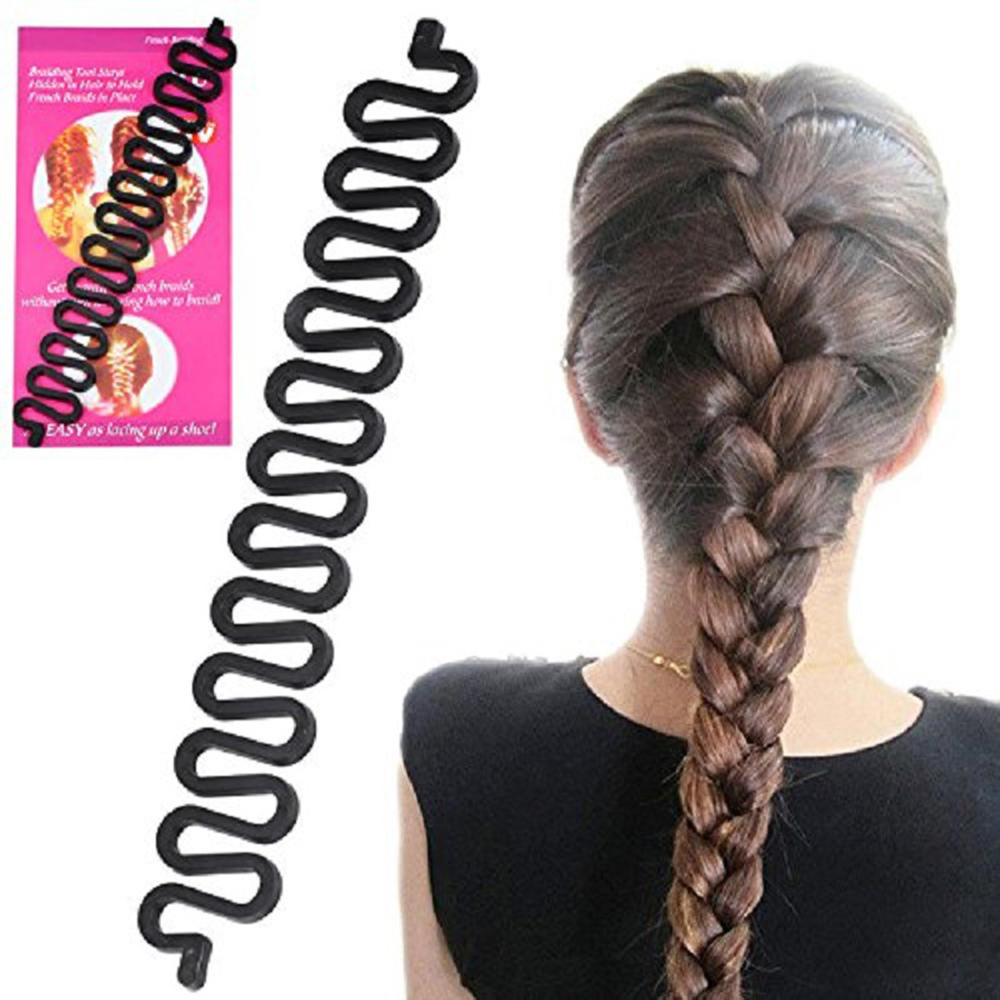 Волшебная заколка для волос Твист Стайлинг булочка шпильки для волос фрикционная головка резиновый зажим аксессуары для волос для женщин и...