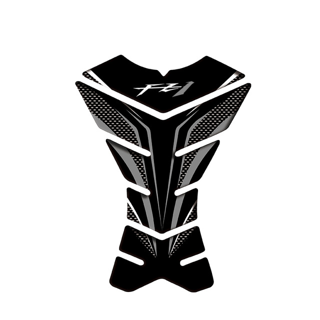 Защитная 3d-наклейка на бак мотоцикла, углеродного цвета, для бака Yamaha FZ1 FZ 1 FZ1N