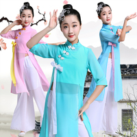 kids ancient chinese costume for girls stage wear chinese hanfu dress stage costume oriental dance costumes