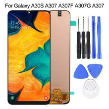 LCD Touch Screen for Samsung Galaxy A30S A307 A307F A307G A307YN  With Frame Digitizer Assembly