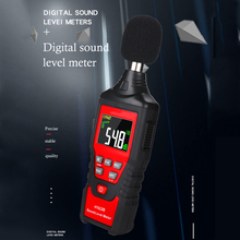 HT622 Noise Measuring Digital Sound Level Meter Handheld Decibel Meter High-precision Backlit Sensor Mini Audio Decibel Monitor