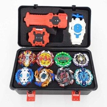 Tops Kai Watch Land juguetes Beyblades Arena Bayblade fusión de metales luchando Gyro con lanzador Bey Blade hoja Juguetes
