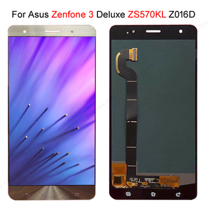 "Image 1 - מהיר המניה עבור ASUS Zenfone 3 Deluxe Z016S Z016D ZS570KL LCD תצוגת מסך מגע Digitizer הרכבה 5.7 ""עבור ASUS ZS570KL LCD"