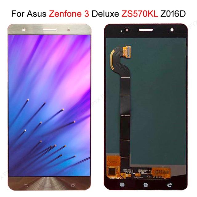 """מהיר המניה עבור ASUS Zenfone 3 Deluxe Z016S Z016D ZS570KL LCD תצוגת מסך מגע Digitizer הרכבה 5.7 """"עבור ASUS ZS570KL LCD"""