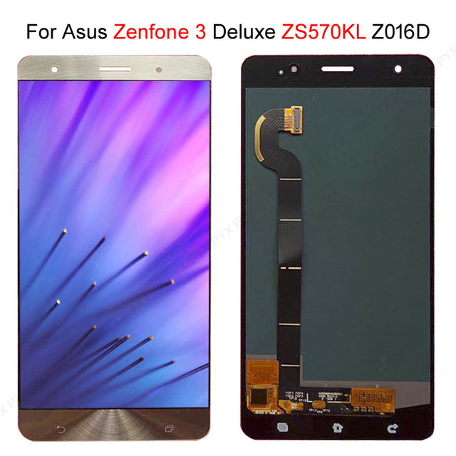 """Stock veloce per ASUS Zenfone 3 Deluxe Z016S Z016D ZS570KL Display LCD Touch Screen Digitizer Assembly 5.7 """"per ASUS ZS570KL LCD"""