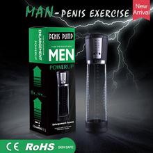 Produkt dla dorosłych elektryczny mechaniczny Penis Pump akumulator Penis pompa próżniowa potężny powiększenie penisa Extender seks-zabawka dla mężczyzn tanie tanio QUBANLV CN (pochodzenie) Pompa penisa