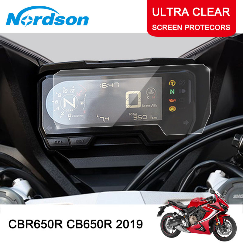 Nordson Motorcycle Cluster Scratch Screen Protection Film Protector Instrument for HONDA CBR650R CB650R 2019