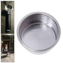 Нержавеющая сталь без давления фильтр для кофе корзина для Breville Delonghi Krups кухонная Кофеварка аксессуары Запчасти
