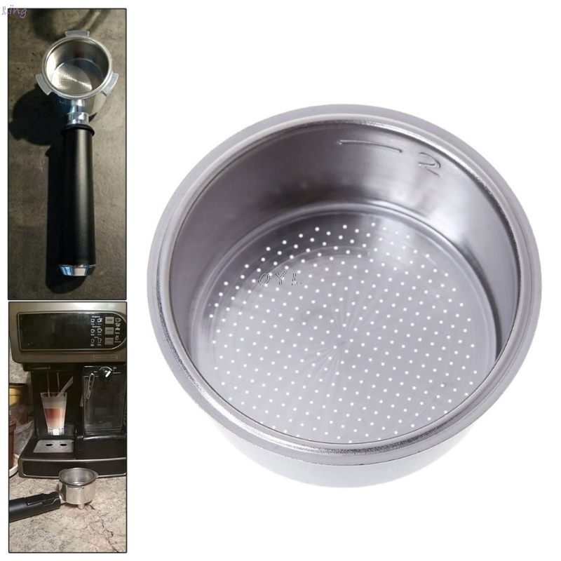 Stainless Steel Non Pressurized Coffee Filter Basket For Breville Delonghi Krups Kitchen Coffee Maker Accessories Parts