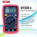 Цифровой измеритель размера ладони UT33C +  профессиональный электрический ручной тестер LCR  амперметр  мультитестер-40-1000C