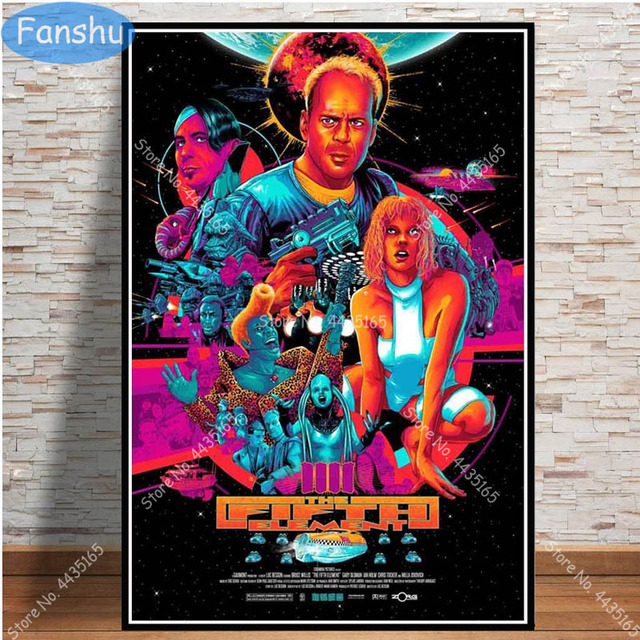 The Fifth Element 20x30//24x36inch Movie Silk Poster Art Print Wall Decoration