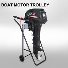 Poratble Boat Outboard Motor Trolley Folding Cart Carrier Engine Stand / Transport Wheels Outboard Motor Stand hideaki tsuchiya carrier transport in nanoscale mos transistors