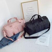 Große Weibliche Reisetasche Reise Tasche Mode Kreuz körper Sport Reisetasche Schuh Fach Kleidung Lagerung Tasche Schulter Tasche