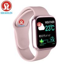 חכם שעון גברים נשים 38mm 1.3 אינץ Monitor ספורט פעילות Tracker Relogio Smartwatch עבור אפל שעון iPhone אנדרואיד