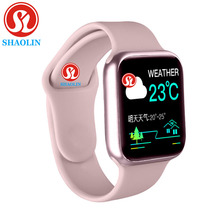 Relógio inteligente das mulheres dos homens 38mm 1.3 polegada monitor de freqüência cardíaca esporte atividade rastreador relogio smartwatch para apple relógio iphone android