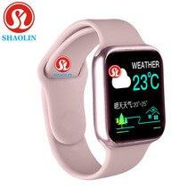 Smart Uhr Männer Frauen 38mm 1,3 zoll Herz Monitor Sport Aktivität Tracker Relogio Smartwatch für Apple Uhr iPhone android