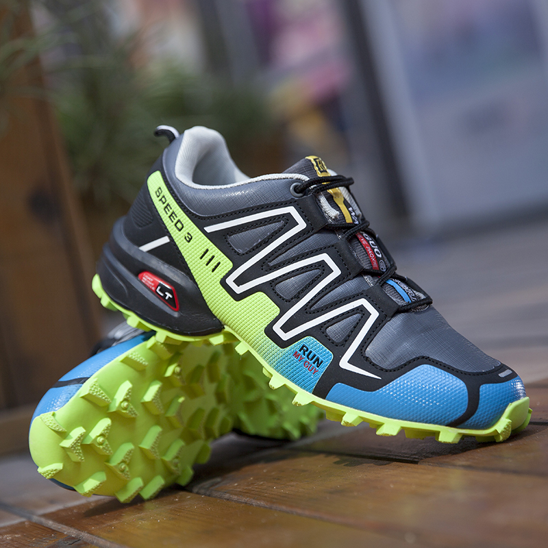 12 Colour Men Breathable Hiking Shoes Outdoor Mountaineer Climbing Sneakers Non-slip Camping Shoes For Men Tactical Shoes Men