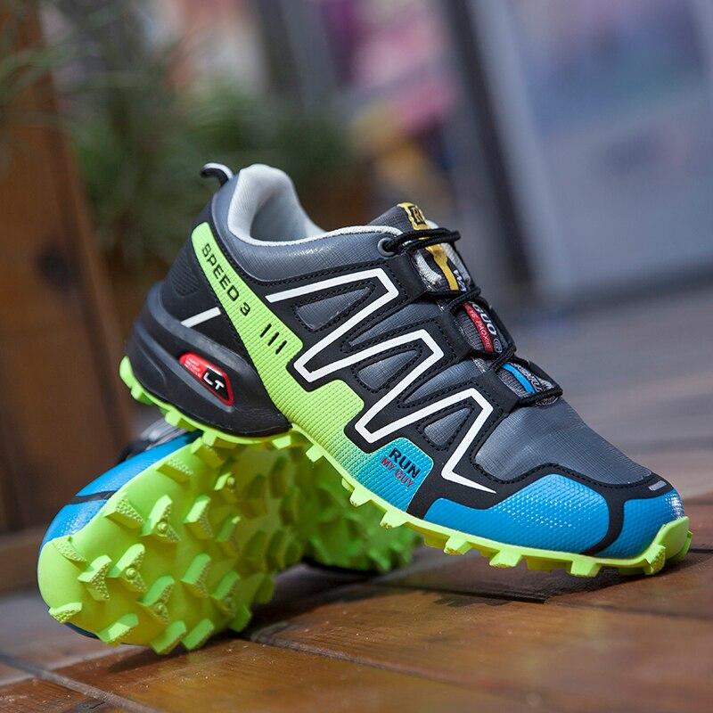 Где купить 12 цветов, Мужская дышащая походная обувь, уличные альпинистские кроссовки для альпинизма, нескользящая походная обувь для мужчин, тактическая обувь для мужчин