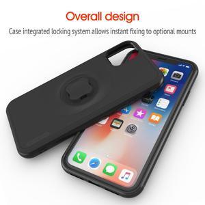 Image 5 - แนวตั้ง Universal หัวเข็มขัดล็อคโทรศัพท์มือถือ Bracket กีฬาเข็มขัดเอวผู้ถือคลิปสำหรับ iPhone 11 Pro XS สูงสุด 8 7 6s ด้วย Quick MOUNT