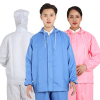 Food Work Clothing Man Uniform Long Sleeve Coveralls Protective Cloth for Worker Repairman Machine Auto Repair Welding DYF0083