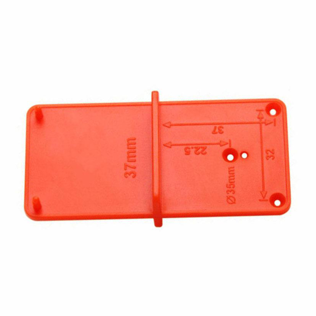Drill Punch Locator 35mm 40mm Hinge Hole Drilling Guide Locator Positioning Plate Template Door Cabinets For Woodworking
