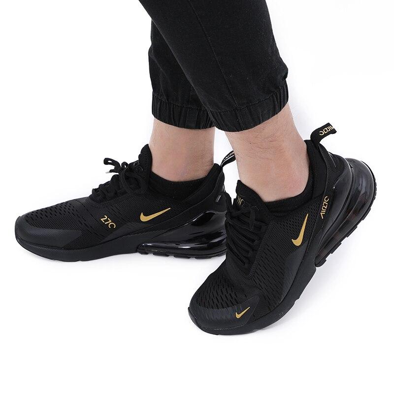Nouveau NikeAir Max 270 Hommes Chaussures De Course décontracté Confortable Chaussures Respirantes Pour Hommes Sport Baskets En Plein Air AH8050-100 EUR Taille