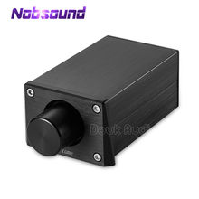 Nobsound High Precision Passive Preamp Volume Controller HiFi Pre-Amplifiers Match Power Amplifiers Or Active Speakers
