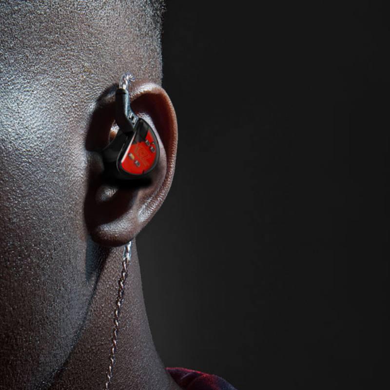 KZ ZS6 2DD 2BA 8 controladores auriculares híbridos en oreja HIFI auriculares deportivos estéreo HIFI DJ Monito auriculares deportivos auricular auriculares - 2