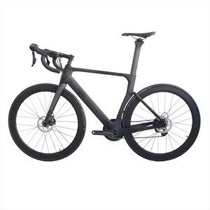 RD525 Aero, карбоновая рама для дорожного велосипеда, полный комплект R8050 Di2 2*11S 49,52,54,56,58 см, OEM продукция, карбоновая рама, полный велосипед