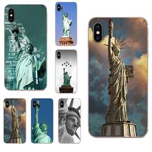 Soft Cases Cover Statue Of Liberty For Apple iPhone 11 Pro X XS Max XR 4 4S 5 5C 5S SE SE2 6 6S 7 8 Plus apple чехол moschino iphone6 5s 5c plus 4s
