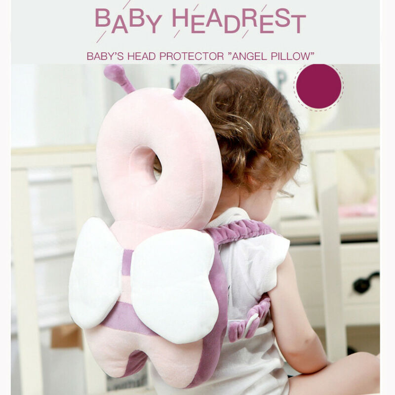 Toddlers Headrest Pad Neck Protector Safety Backpack Baby Head Protection Pillow