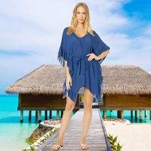 Plus size Chiffon Beach Cover up Sarong pareo playa Women Mini Dress Swimwear elephant pattern chiffon cover up women s sarong