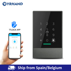 IP66 Wasserdichte Bluetooth TTlock App Steuerung Tür Access Control System Karte Reader Smart Lock