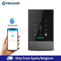 IP66 Waterproof Bluetooth TTlock App Control Door Access Control System Card Reader Smart Lock