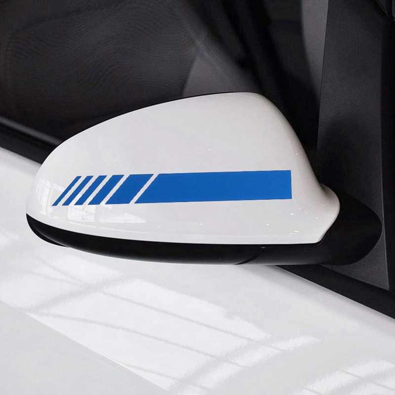 2 pièces voiture style Auto SUV vinyle autocollant rétroviseur côté décalcomanie forAudi A4 Avant A4 Cabriolet A6L A8L TT TTS toutes les voitures