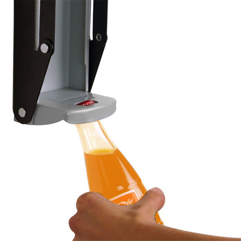 16 Oz Can Crusher,Metal Can Crusher,Heavy-Duty Wall-Mounted Smasher for Soda,Beer Cans and Bottles,Kitchen Supplies Can Opener Eco-Friendly Recycling Tool